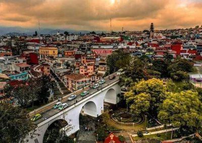 Puente y Barrio de Xallitic